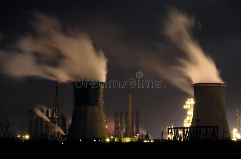 3 elektrownia fotografia stock