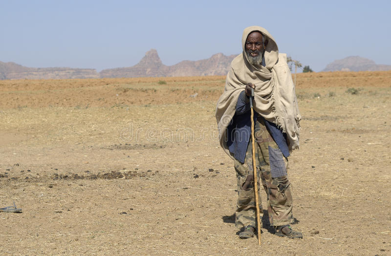 3 ethiopian folk royaltyfri fotografi