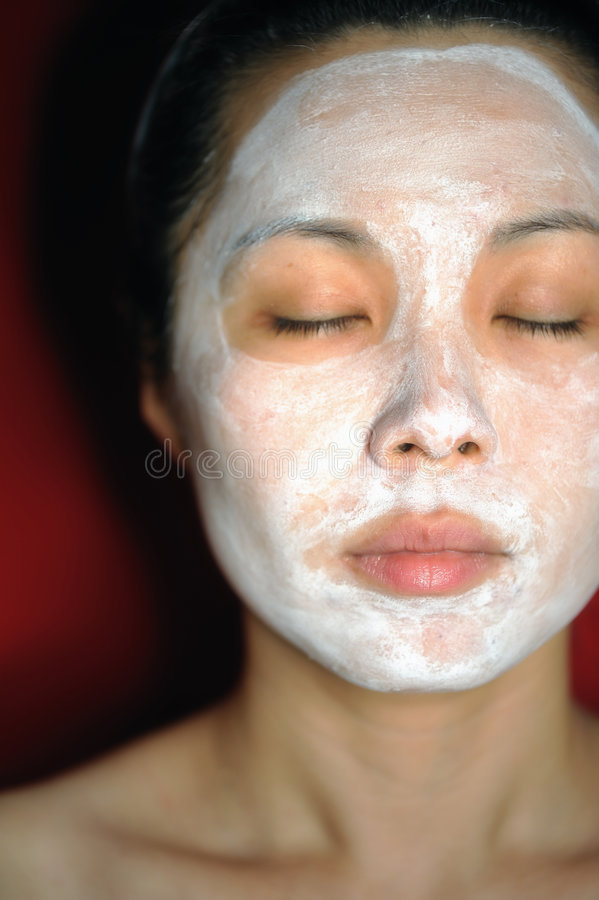 3 facial theraphy zdjęcia royalty free