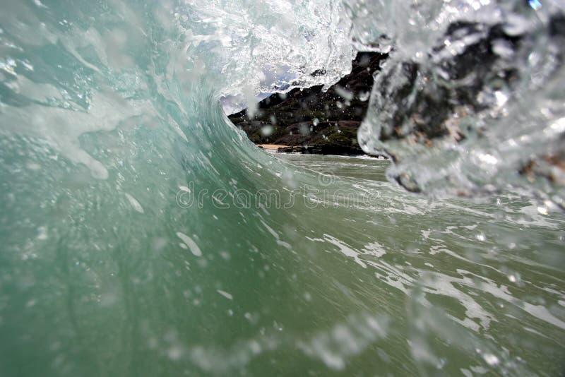 3 fale oceanu zdjęcia stock