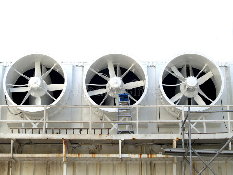 3 Fans royalty free stock photo