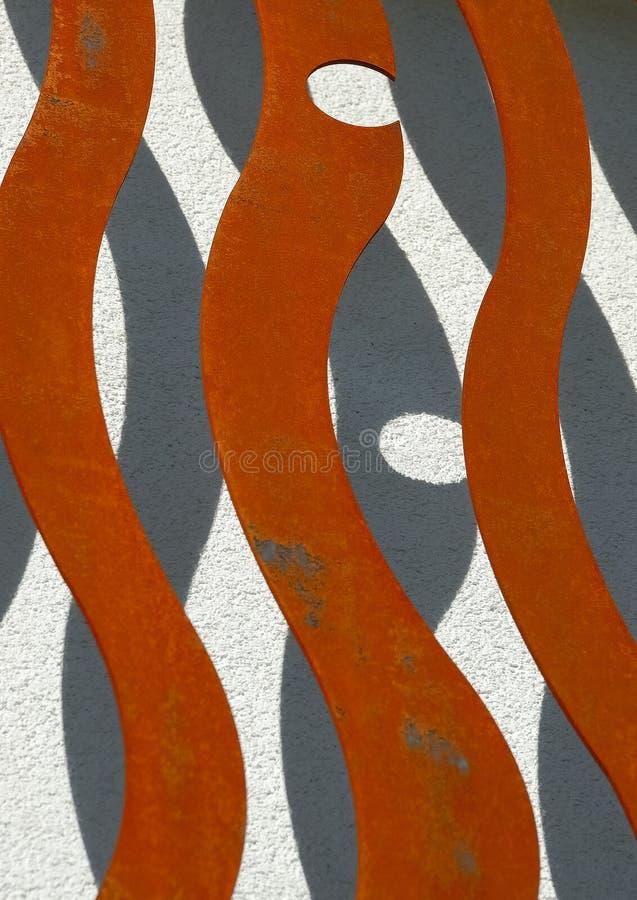 3 fasad nowoczesny iron nr zdjęcie stock