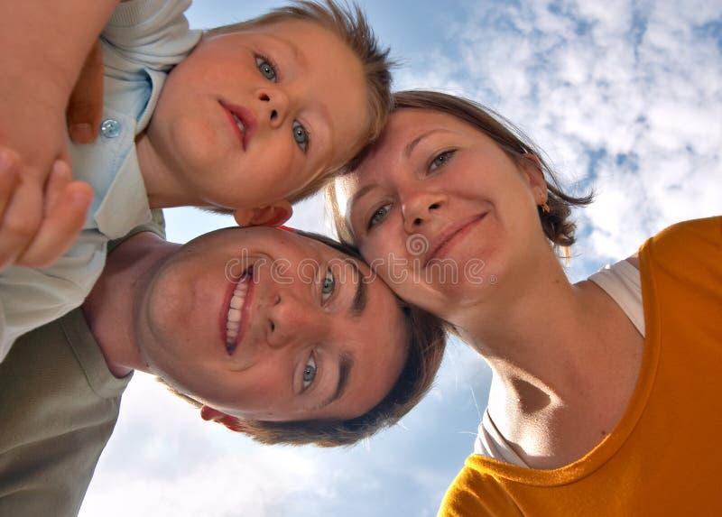 3 felici fotografie stock libere da diritti