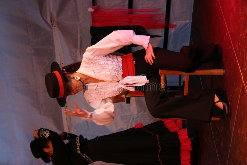 3 flamenco obrazy stock