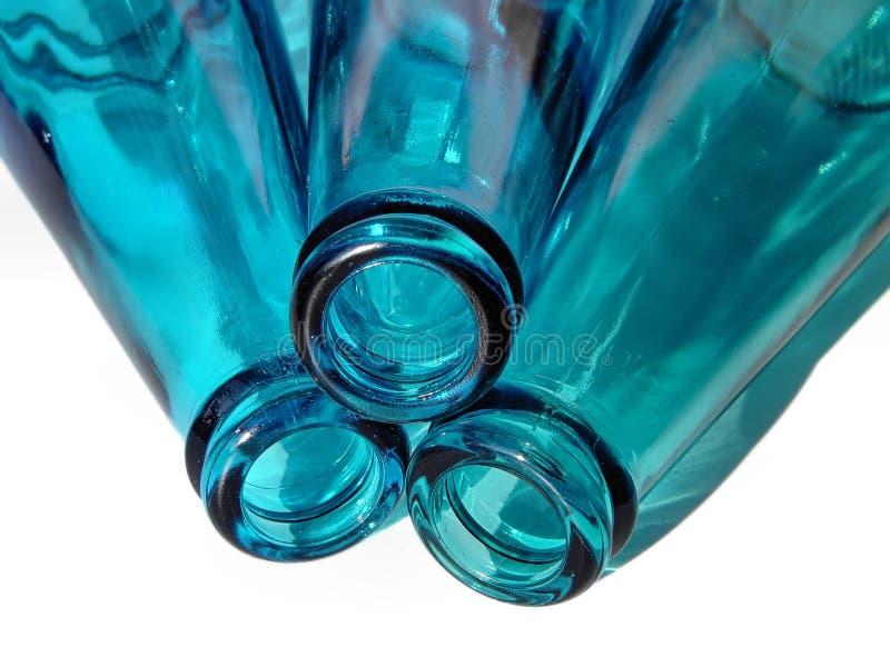 3 Flaschen lizenzfreie stockfotografie