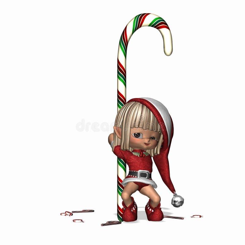 3 fous par elfes illustration libre de droits