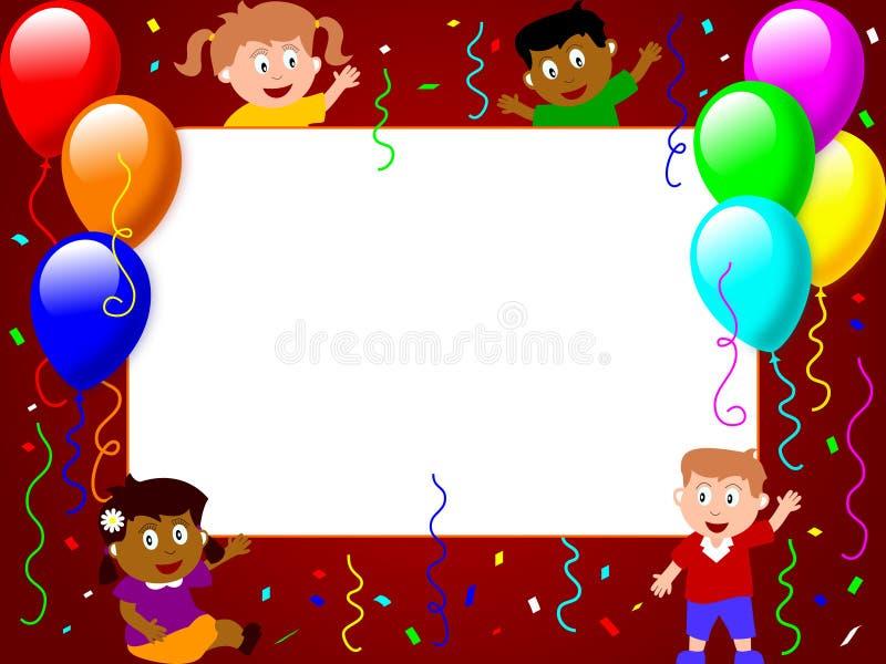 3 frame party photo time ελεύθερη απεικόνιση δικαιώματος