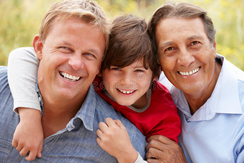 Download 3 generations Hispanic men stock photo. Image of loving - 23706780