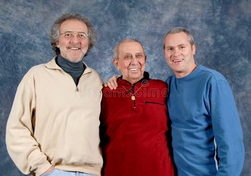 3 gerações fotos de stock royalty free