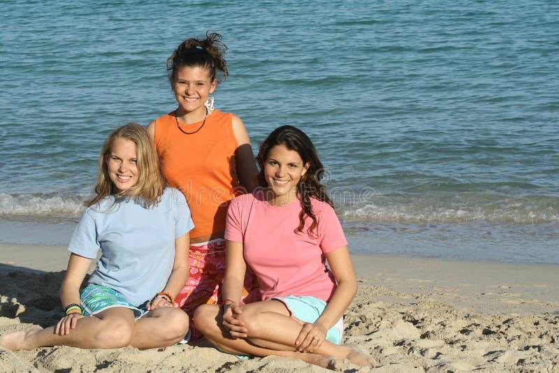 Download 3 Girls In T Shirt Stock Image - Image: 614541