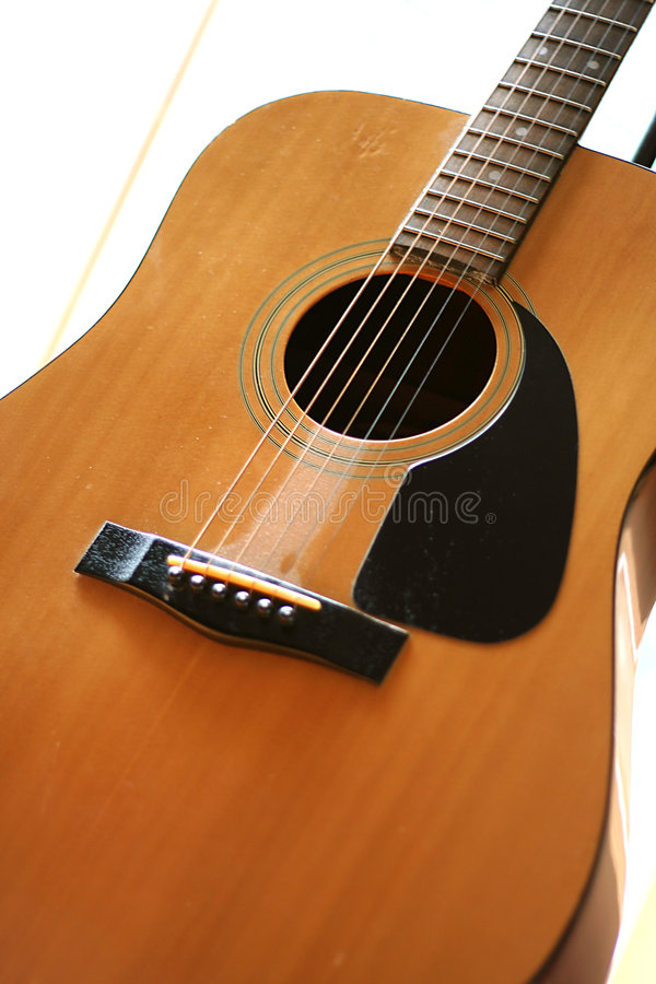3 gitara akustyczna obraz stock
