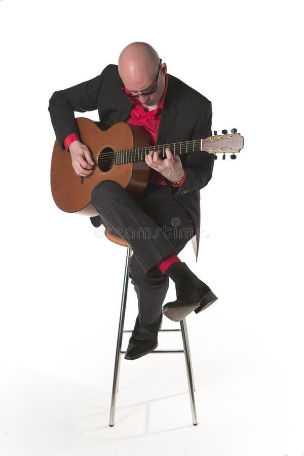 3 gitarzysta dźwiękowy obrazy stock