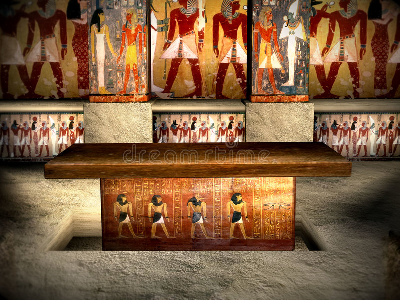 3 grób Egiptu obraz royalty free