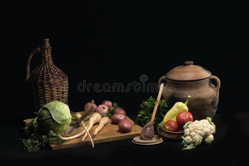 3 grönsaker arkivbild