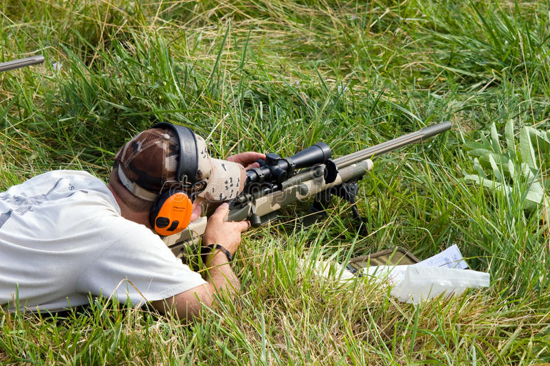 Download 3-Gun Charity Competition editorial stock image. Image of shooters - 15190999
