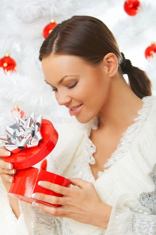 3 härliga jul arkivbild