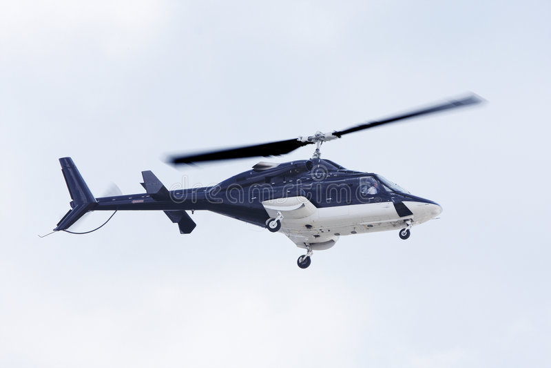 3 helikopter zdjęcie royalty free