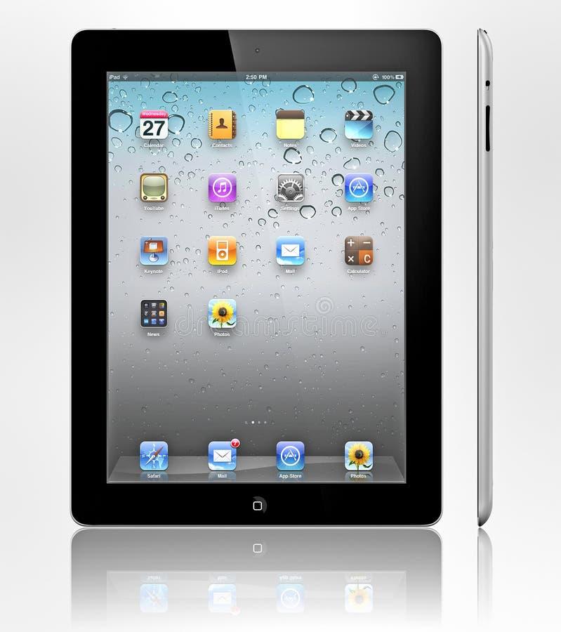 3 jabłek ipad nowy zdjęcie stock