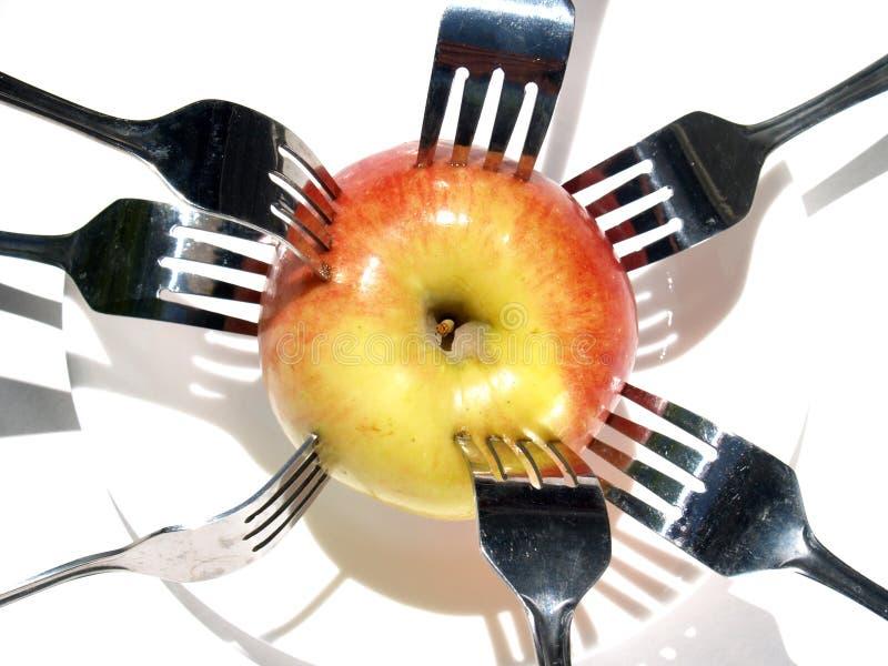 3 jabłko obraz stock