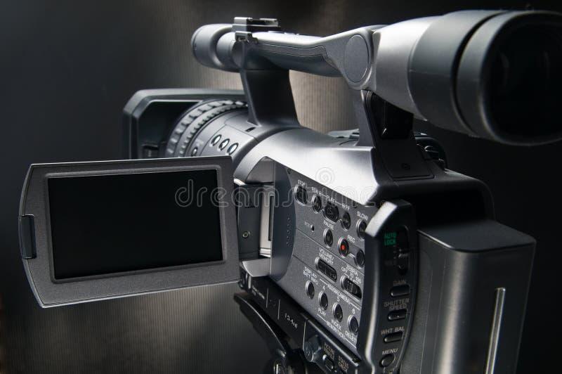 3 kamer wideo obrazy stock