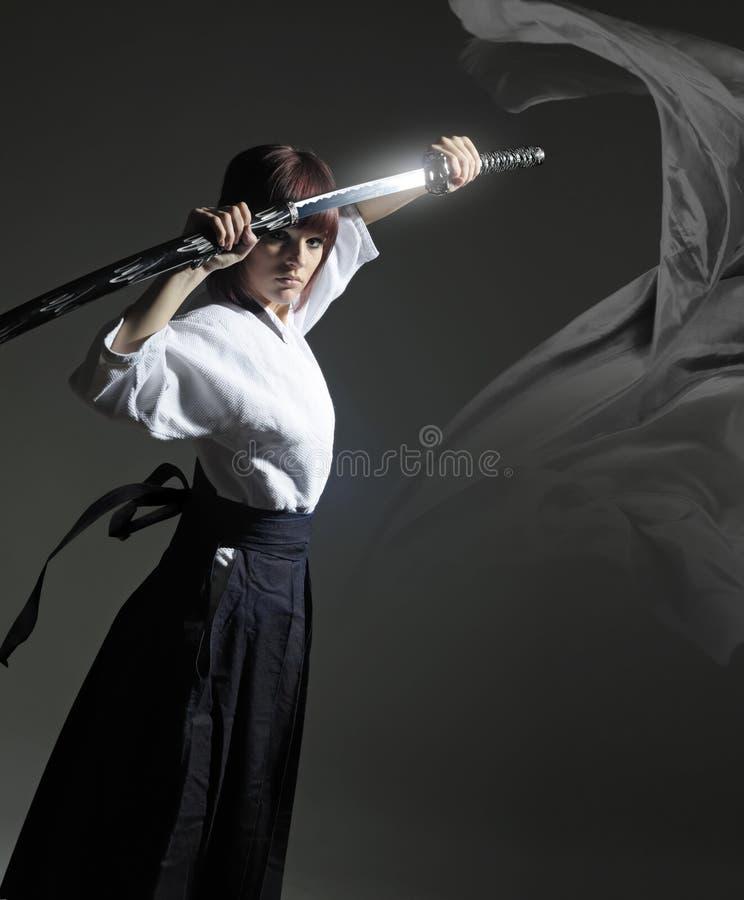 3 katana灵魂战士 图库摄影
