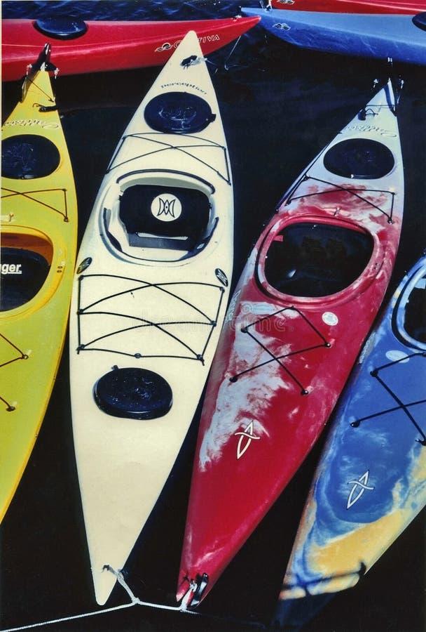 Download 3 Kayaks stock photo. Image of recreation, float, ocean - 194542
