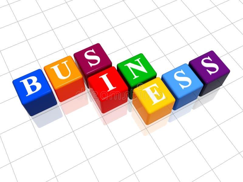 3 kolorze przedsiębiorstw ilustracja wektor