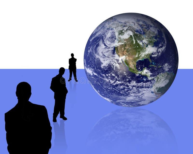 3 koncepcja przedsiębiorstw ilustracja wektor