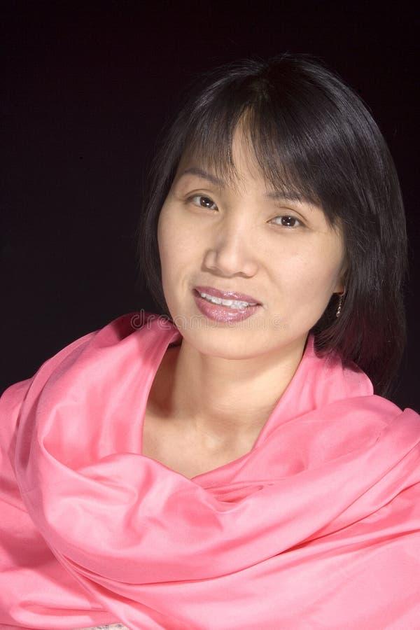 3 koreańczyków portreta kobieta fotografia royalty free