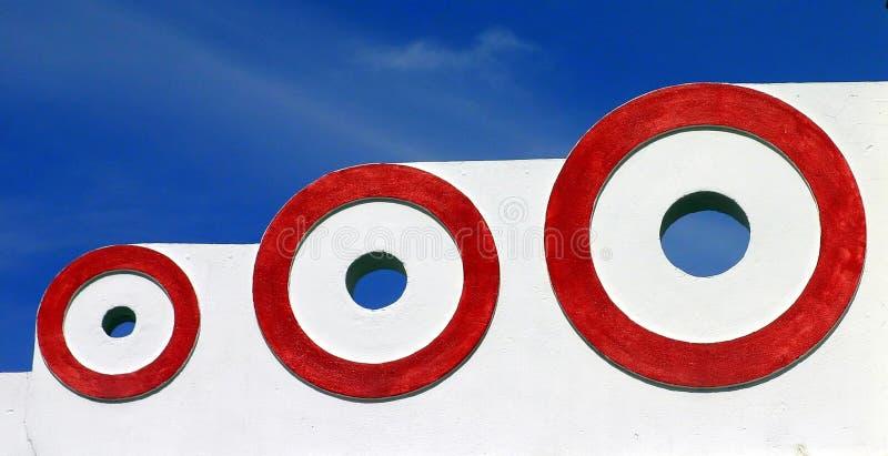 3 Kreise lizenzfreie stockfotografie
