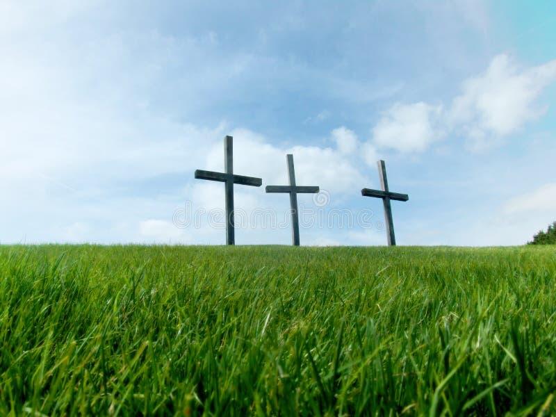 3 krzyża zdjęcia stock