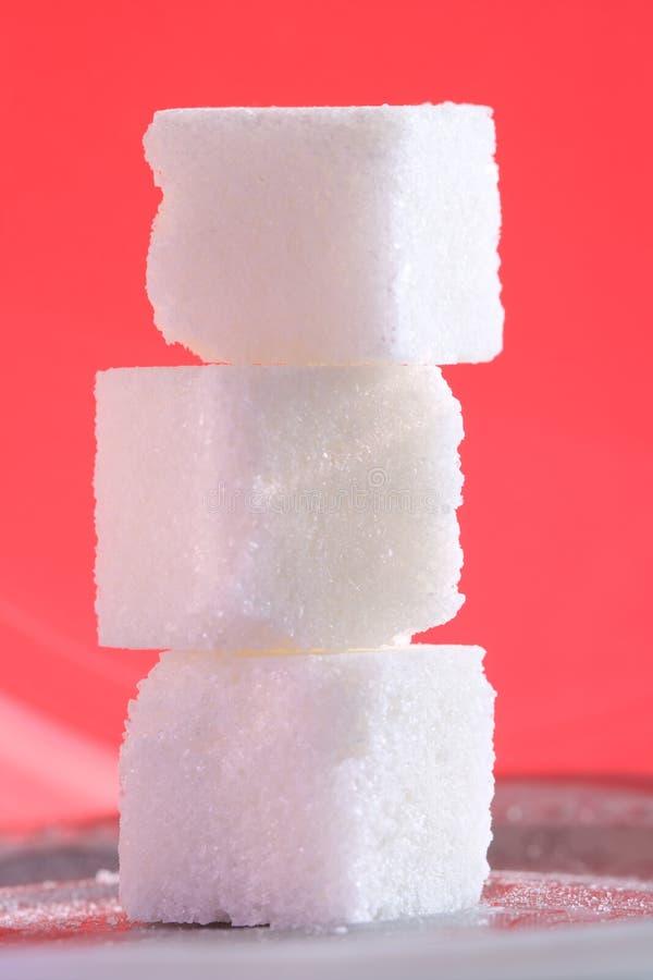 3 kuber pink socker fotografering för bildbyråer