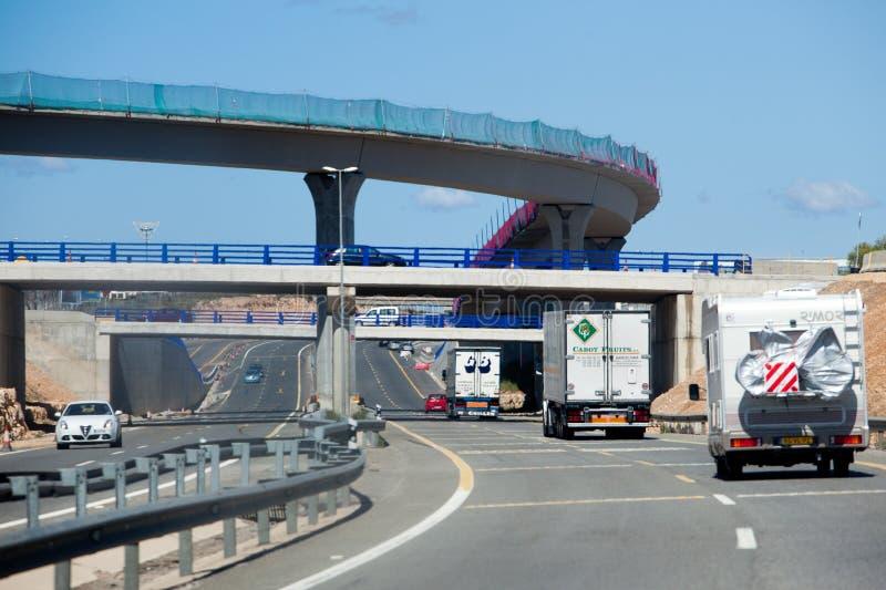 3-Level Highway stock image