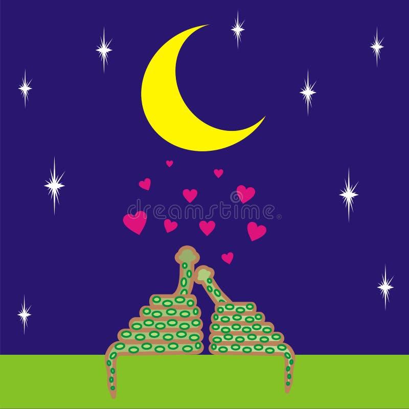 3 miłości royalty ilustracja