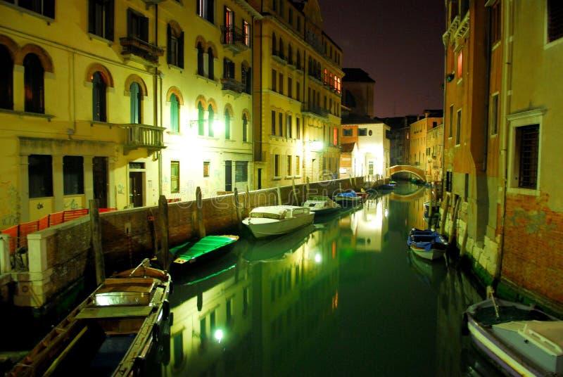 3 night scene venecian στοκ φωτογραφία