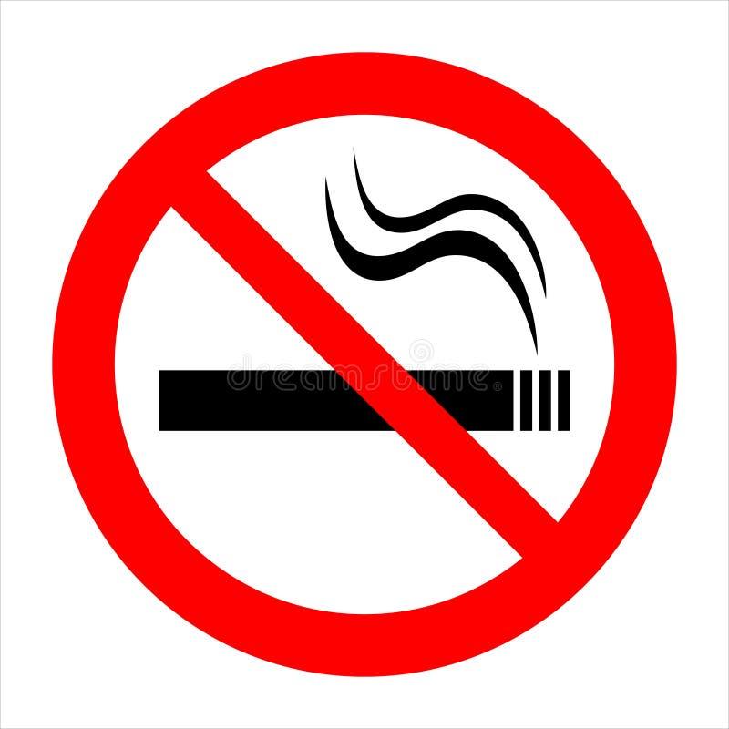 3 non fumatori (+ vettore) illustrazione di stock