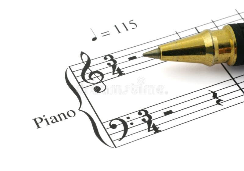 3 notatka muzyki obraz royalty free
