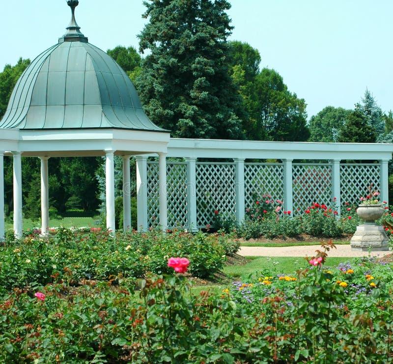 3 ogrodów botanicznych gazebo zdjęcia stock