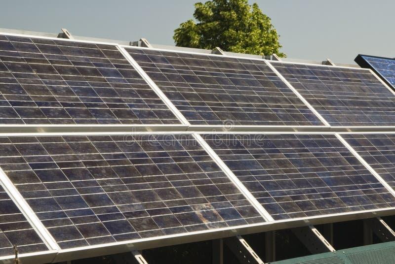 3 panelu słonecznego obrazy stock