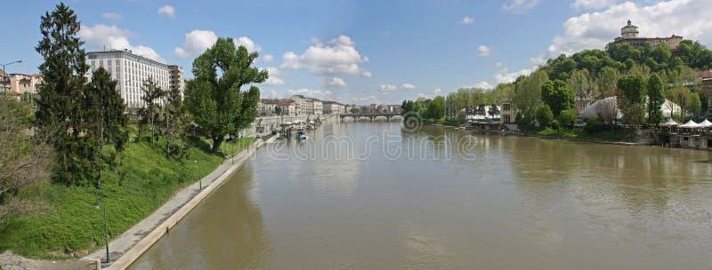 3 panorama po Turin