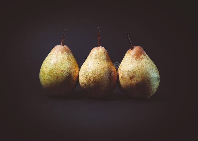 3 Pear Fruits Free Public Domain Cc0 Image