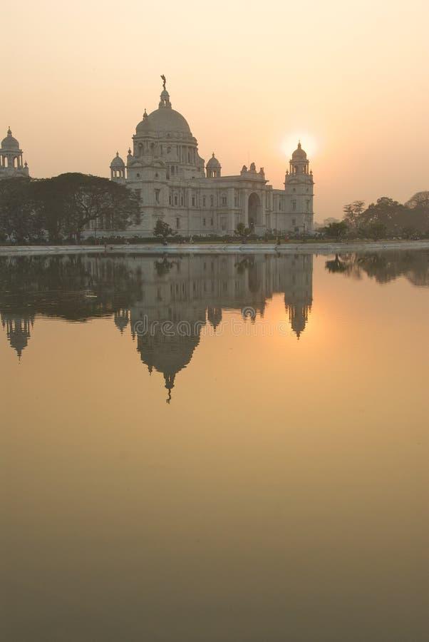 3 pomnik Calcutta Victoria obraz royalty free