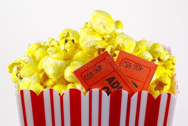 3 popcorn zdjęcia stock