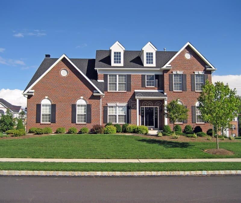 3 posh podmiejski dom obrazy royalty free