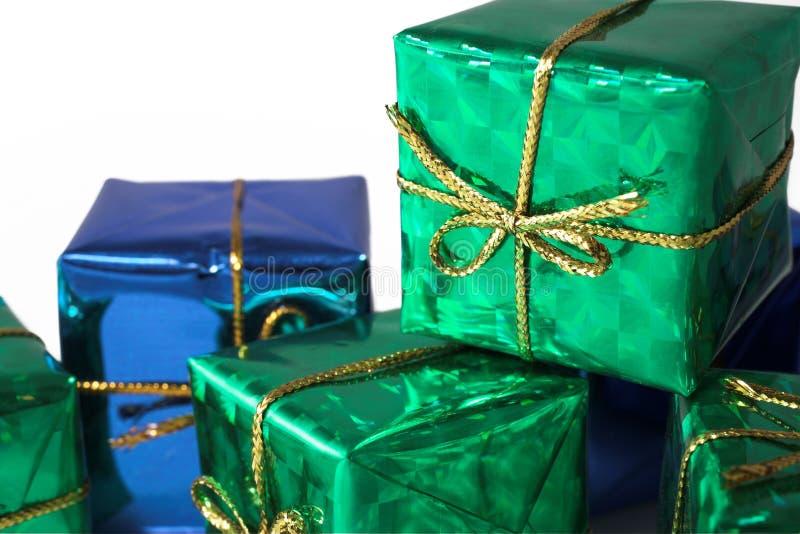 3 prezent zdjęcia stock