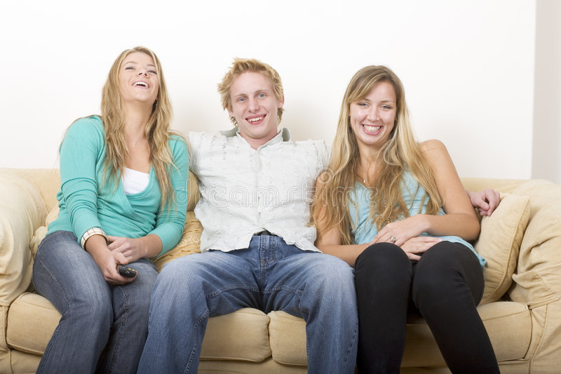 3 przyjaciela obrazy stock