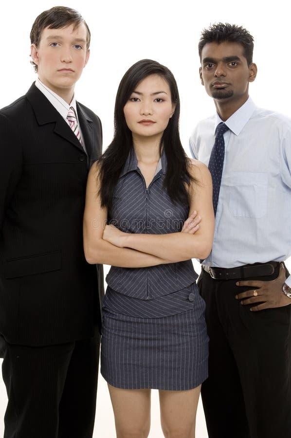 3 różnorodna zespół jednostek gospodarczych obrazy royalty free