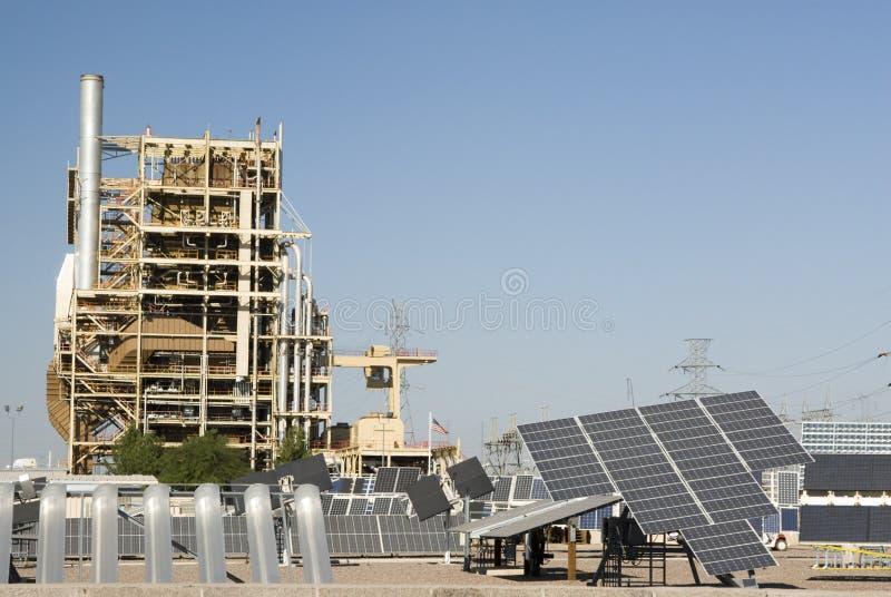 3 słoneczny ośrodek badawczy zdjęcie stock
