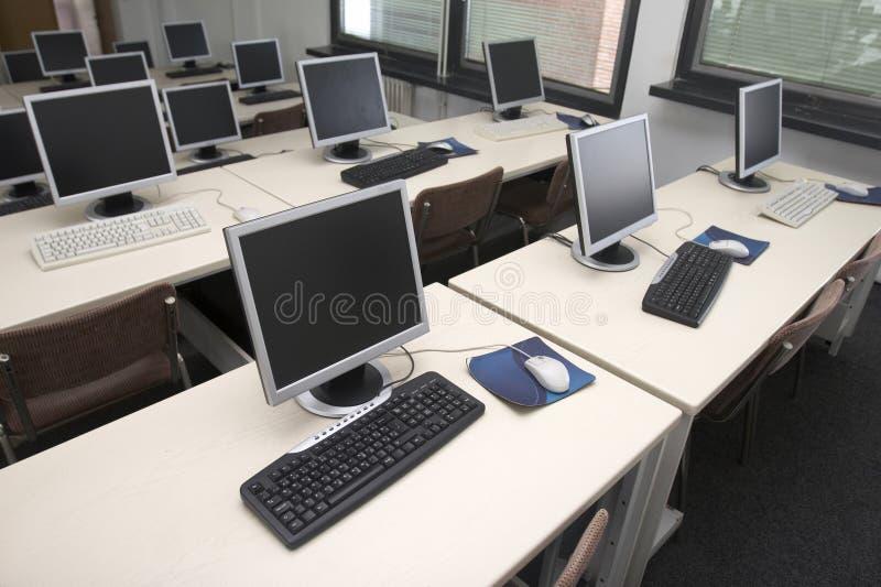 3 sala lekcyjna komputer zdjęcie royalty free
