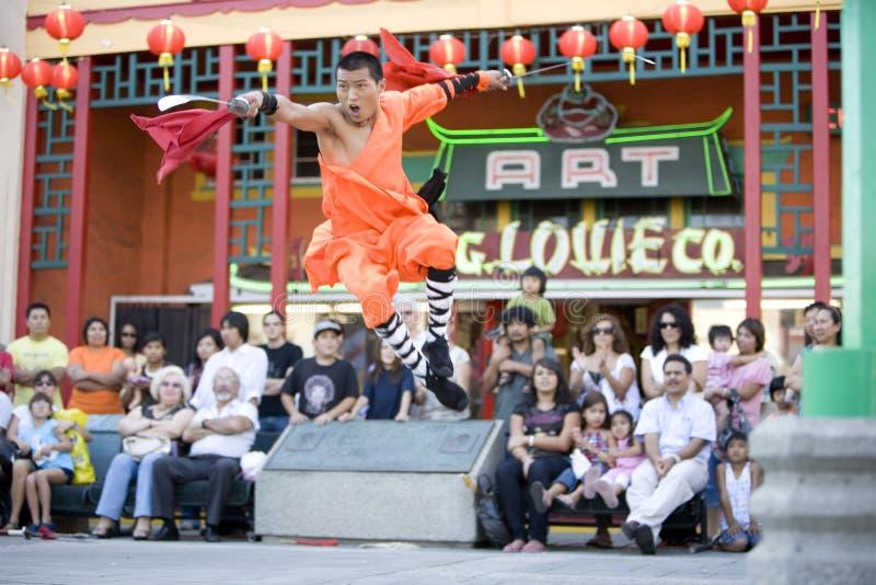 3 shaolin kung - fu. obraz royalty free
